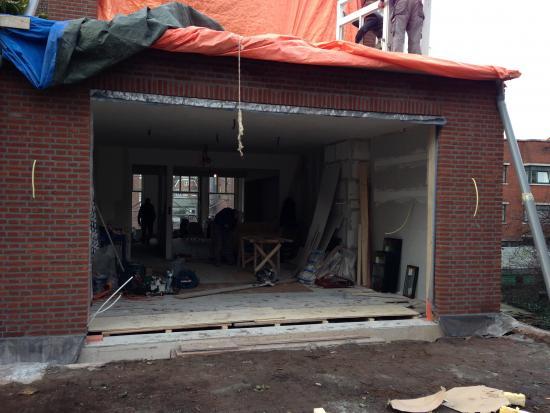 Aanbouw, houten kozijnen, ramen, den haag.